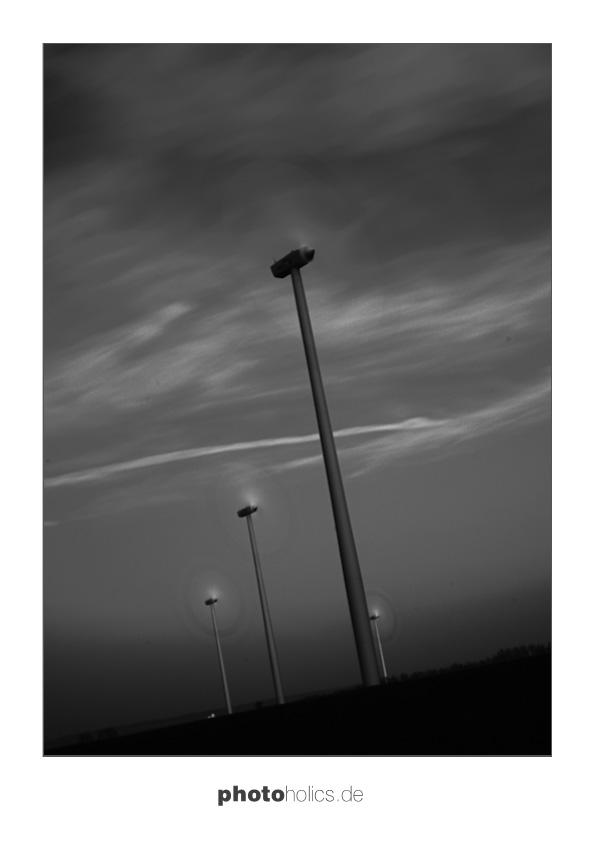 windraeder langzeitbelichtung bei Tageslicht