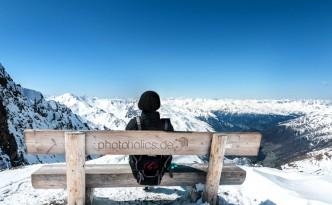 Dreiländerblick Staatsgrenze Italien Österreich